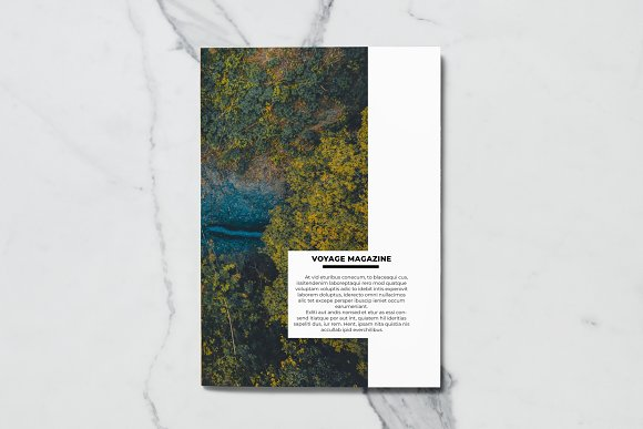 Voyage Magazine Template in Magazine Templates - product preview 6