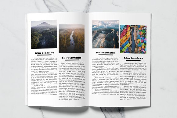 Voyage Magazine Template in Magazine Templates - product preview 7