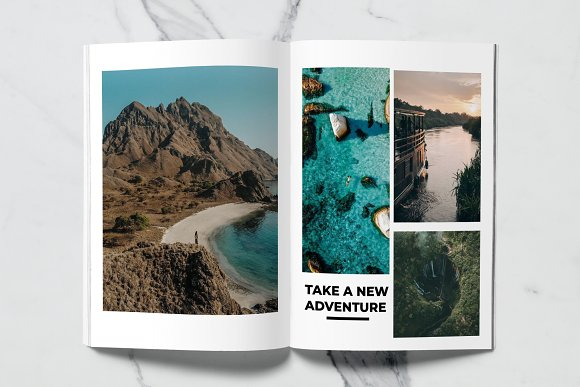 Voyage Magazine Template in Magazine Templates - product preview 10