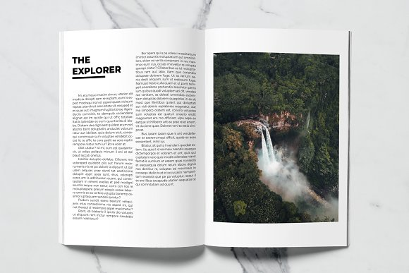 Voyage Magazine Template in Magazine Templates - product preview 11