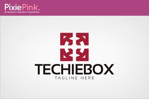 Techie Box Logo Template