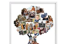 Family tree Photo collage ID68