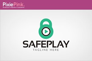 Safe Play Logo Template