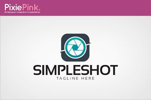 Simple Shot Logo Template