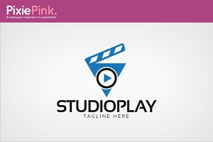 Studio Play Logo Template