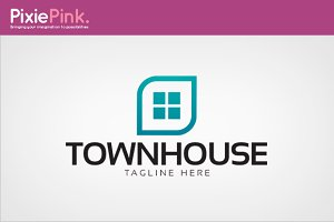 Town House Logo Template