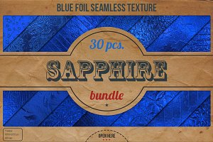 Blue Foil HD Textures XL Bundle