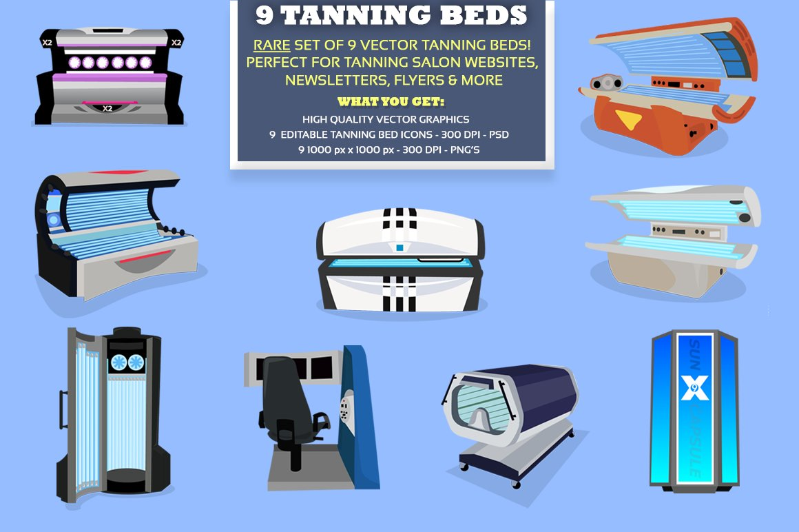 Industrial Tanning Beds
