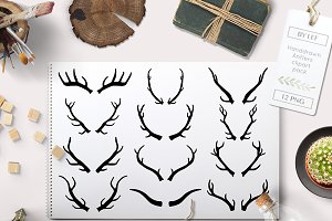 Antler Graphics Hand Drawn