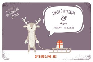 9 Cute Winter/Holiday Greeting Cards
