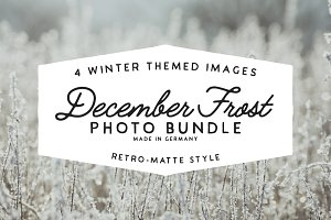 50%OFF: December Frost - Photo Pack