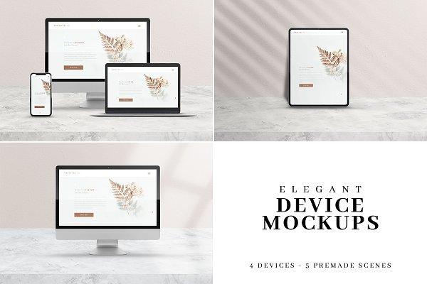 Elegant & Classy Device Mockups