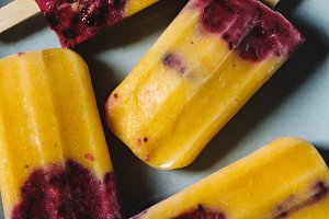 Fruit homemade popsicles stock photo containing popsicle and snack