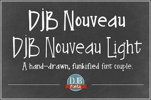 DJB Nouveau Fonts