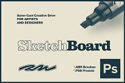 RM Sketch Board (PSbruhes & presets)