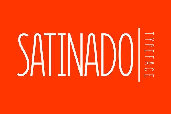Satinado - A Modern Sans Serif Font