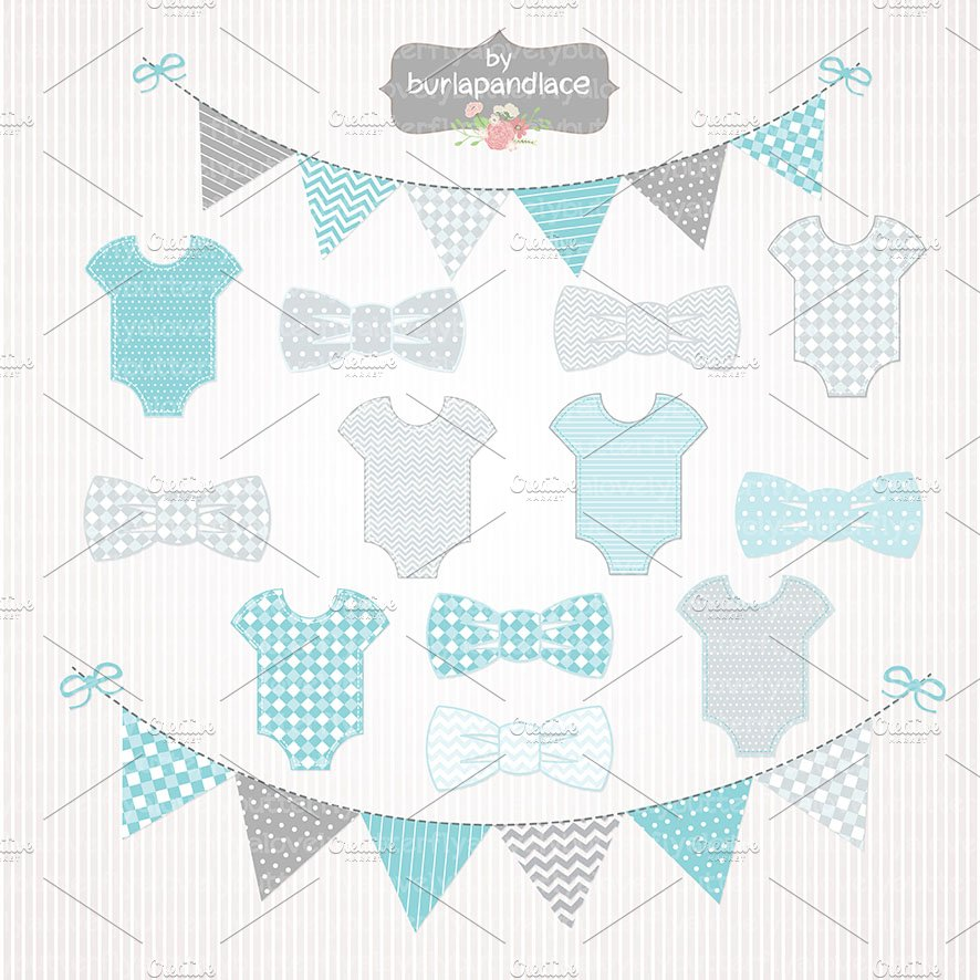 baby boy clipart illustrations creative market