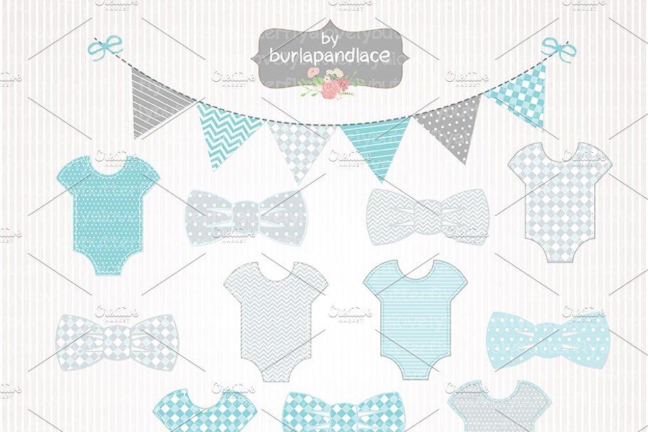 e8e3d1bde008 Baby boy clipart ~ Illustrations ~ Creative Market