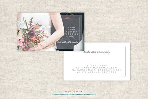 Elegant Photographer Business Cards