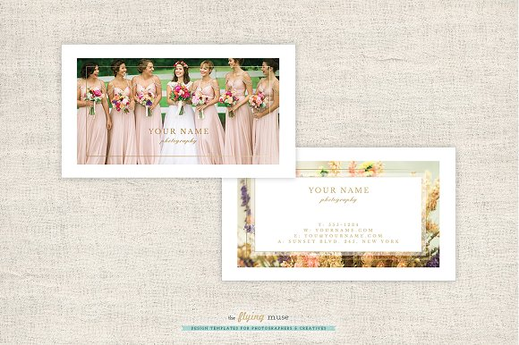 Wedding Photographer Business Cards Business Card Templates - Wedding business card template