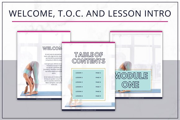 eBook Template  Canva Bold in Magazine Templates - product preview 2