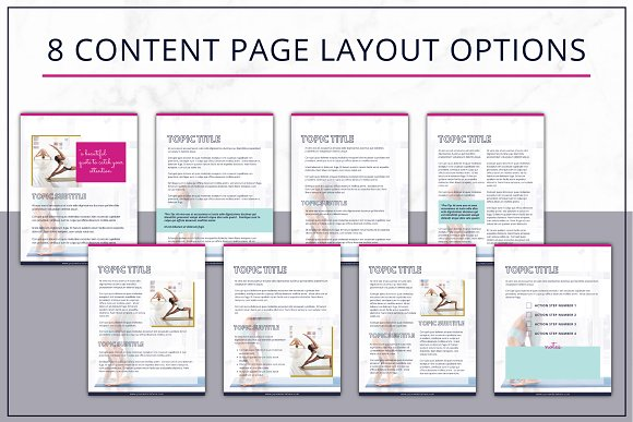 eBook Template  Canva Bold in Magazine Templates - product preview 3