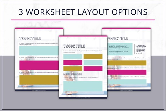 eBook Template  Canva Bold in Magazine Templates - product preview 4