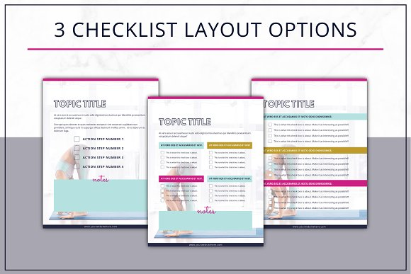 eBook Template  Canva Bold in Magazine Templates - product preview 5
