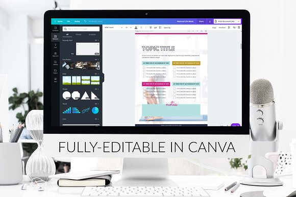 eBook Template  Canva Bold in Magazine Templates - product preview 6
