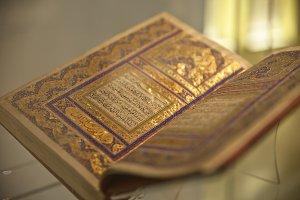 Open quran book