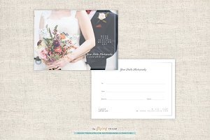 Wedding Photo Gift Card Templates
