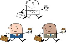 Happy Businessman Collection - 1