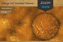 Orange Foil Tileable HD Texture