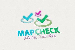 Map Check Logo