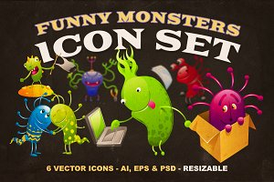 Monsters Icon Set