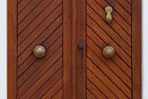 Big Wood Door