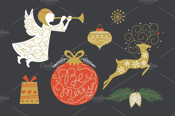 Christmas Collection EPS & PNG in Illustrations - product preview 3