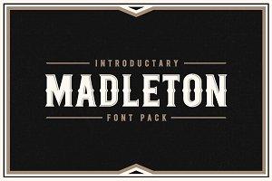 Madleton Font Pack