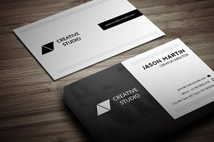 Dual Backside Business Card
