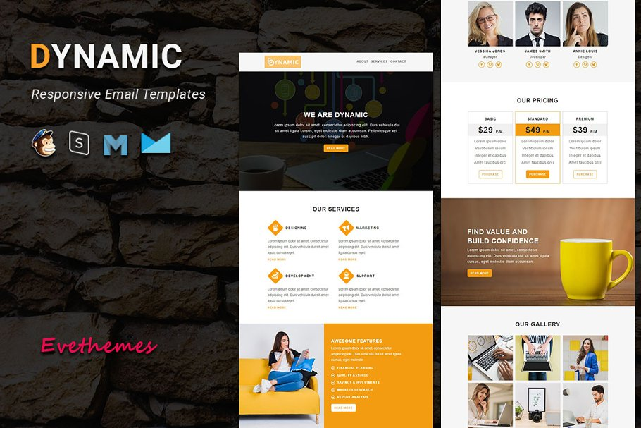 DYNAMIC - Responsive Email Template