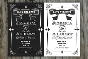 Save the Date Invitation-2 Color-V02