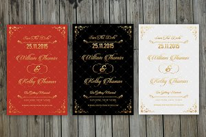 Save The Date Invitation-3 Color-V03