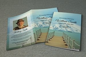 Funeral Program Template-V281
