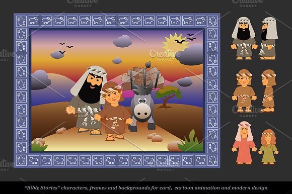 Сharacters of the biblical stories