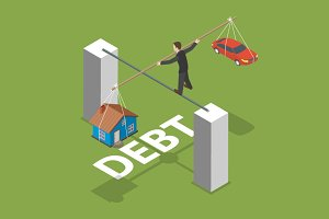 Debt isometric concept