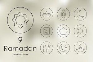 9 Ramadan icons