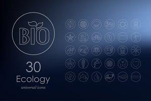 30 ecology icons