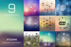 9 hygiene infographics