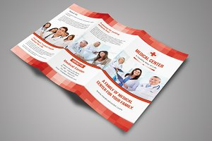 Mosaic Medical Trifold Brochure