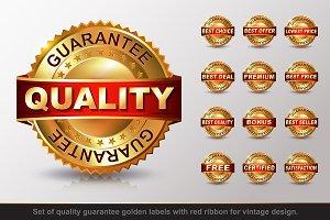 Set of Quality Golden Labels